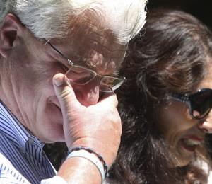 Pais do jornalista James Foley se emocionaram ao falar do filho, que foi degolado em um vídeo divulgado por jihadistas do Estado Islâmico no Iraque (Foto: AP Photo/Jim Cole)