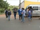 Fiscalização verifica situação dos veículos na entrada e saída na capital