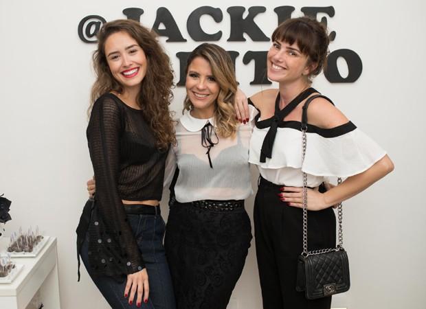 Amanda Richter, Jackie Britto e Natallia Rodrigues (Foto: Mi Garcia)