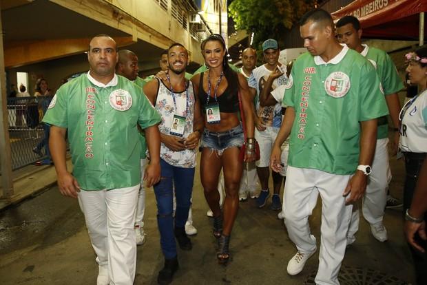 Belo e Gracyanne Barbosa (Foto: Marcos Serra Lima / Ego)