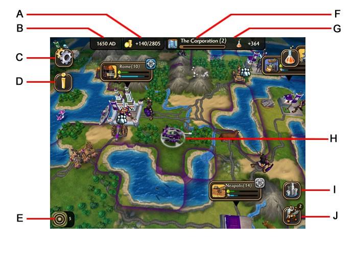 A interface do game (Foto: Reprodução/Daniel Ribeiro)