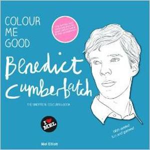 Colour Me Good Benedict Cumberbatch Autora: Mel Elliott Editora:  I Love Mel (Foto: Divulgação)