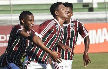 Copa do Brasil sub-17: Flu empata com Santos e se classifica para semifinal