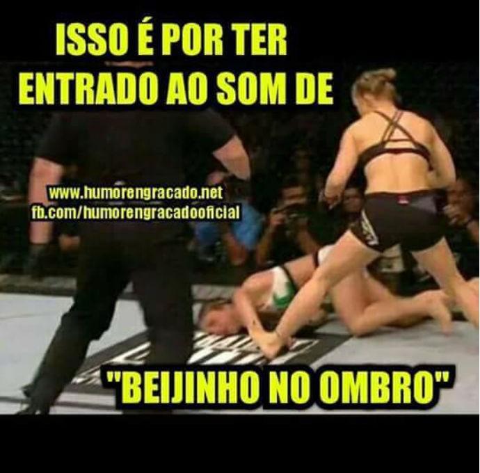 Meme Ronda Rousey x Bethe Correia