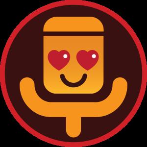 emoji apaixonado (Foto: Gshow)