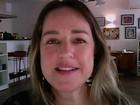 """""""Nos EUA, mulheres solteiras têm grande impacto nas eleições"""" (reprodução GloboNews)"""