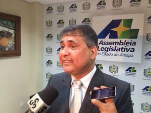Moisés Souza reassumiu presidência da Alap (Foto: Abinoan Santiago/G1)