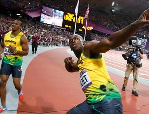 Usain Bolt, Atletismo, 100m Ouro, Medalha (Foto: Reuters)