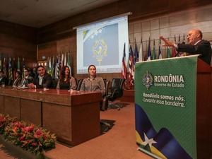 Cerimônia de lançamento foi realizada nesta quinta, 2 (Foto: Bruno Corsino/Decom-RO)