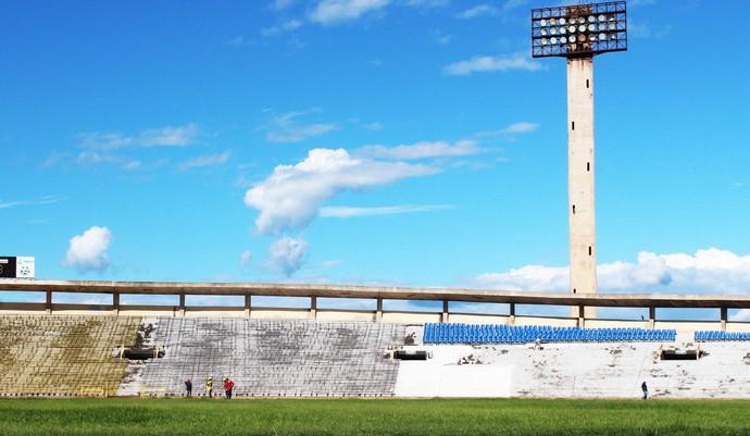 Estádio Albertão, Teresina (PI) (Foto: Josiel Martins )