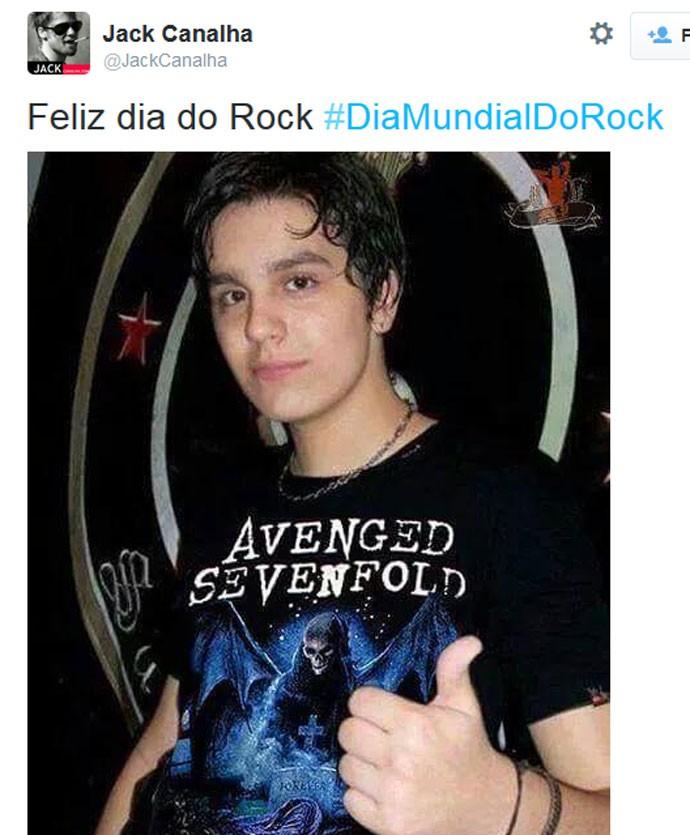 Dia Mundial do Rock - Luan Santana