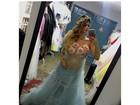 Kelly Key usa look 'sereia' em ensaio especial: 'Fotografando gravidinha'