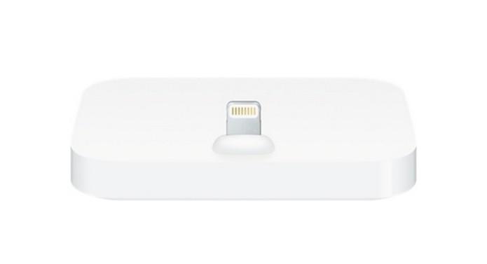 Acessório permite que iPhones sejam carregados em pé (Foto: Reprodução/Apple)