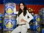 Daniela Albuquerque é a nova rainha de bateria da Acadêmicos do Tucuruvi