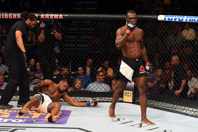 Uriah Hall x Oluwale Bamgbose (Foto: Getty Images)