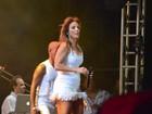 Ivete Sangalo se apresenta na Bahia e filho da cantora sobe ao palco