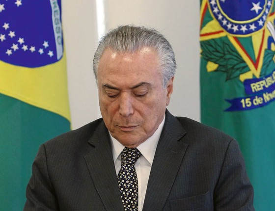 O presidente Michel Temer (Foto:  Givaldo Barbosa / Agência O Globo)