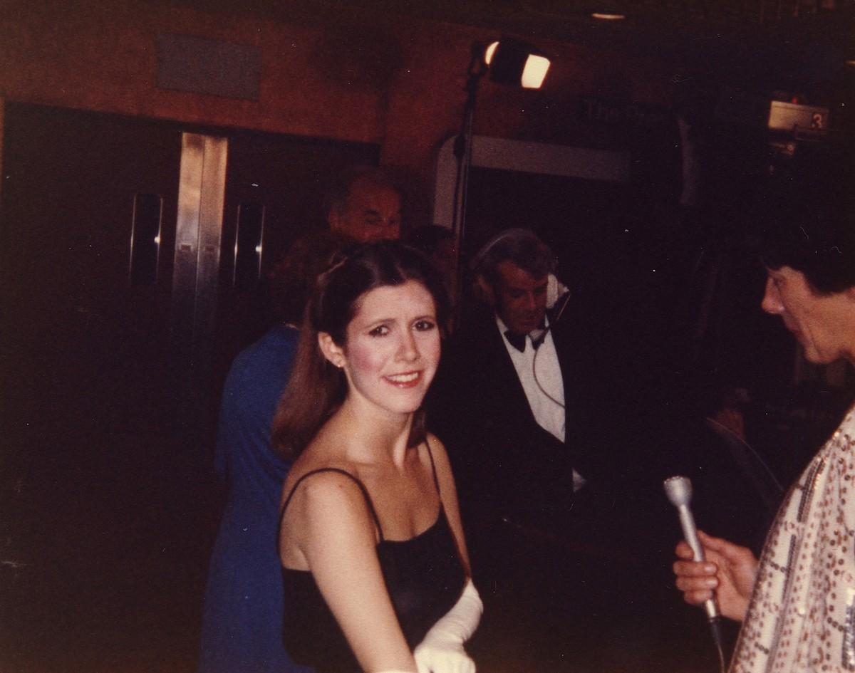 Carrie Fisher. (Foto: Divulgação)