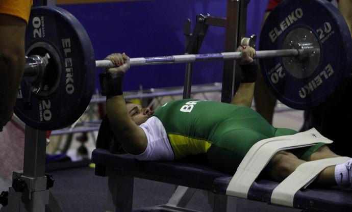 Maria Rizonaide Silva halterofilismo (Foto: Washington Alves/Mpix/CPB)