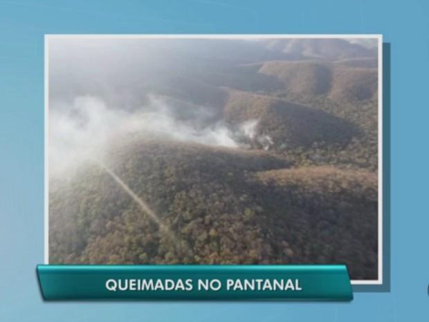 Serra do Amolar, Pantanal de MS (Foto: Reprodução/ TV Morena)
