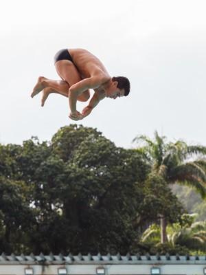 Thiago na pele de Diogo (Foto: Artur Meninea/Gshow)