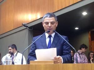 Cássio Trogildo é eleito presidente da Câmara Municipal de Porto Alegre (Foto: Rafaella Fraga/G1)