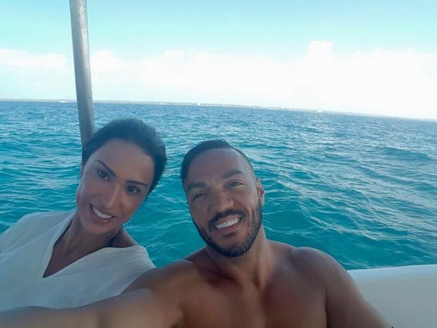 Gracyanne Barbosa e Belo (Foto: Arquivo pessoal)
