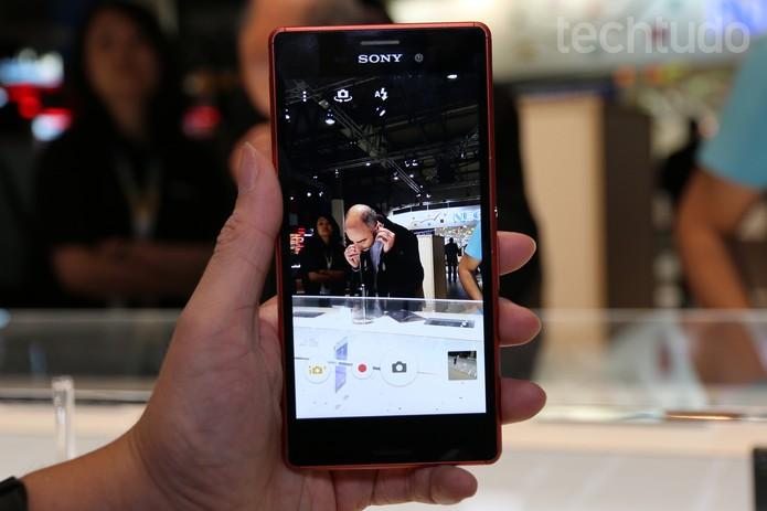 Sony Xperia M4 Aqua (Foto: Isadora Díaz/TechTudo)