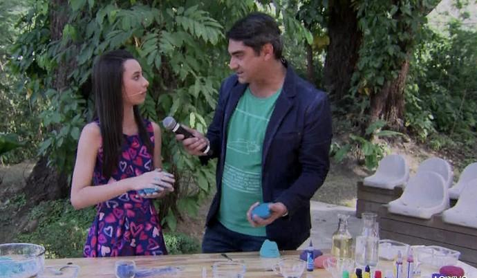 Aprenda a fazer massinha caseira (Foto: TV Globo)