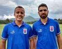 Mais dois: Paraná anuncia atacante Matheus Carvalho e zagueiro Rayan