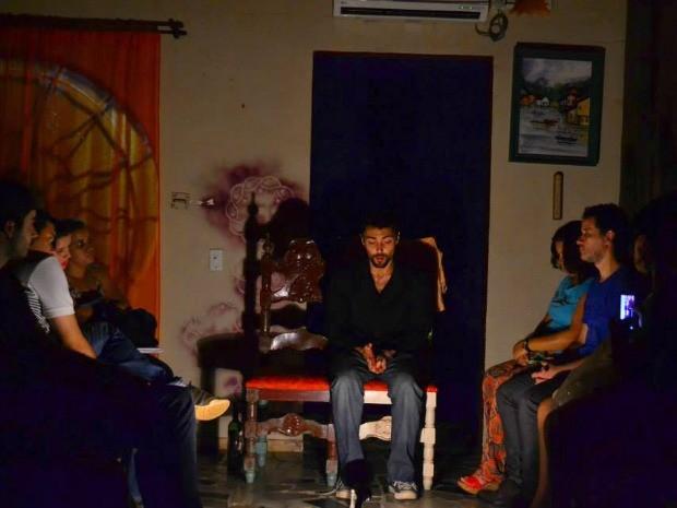 Monólogo 'Filemon' é apresentado na casa Arigóca, nesta quarta-feira (11), em Porto Velho (Foto: Divulgação)