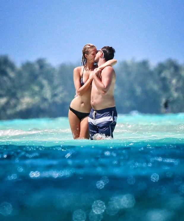 Toni Garn e Leonardo Di Caprio (Foto: AKM-GSI / AKM-GSI)