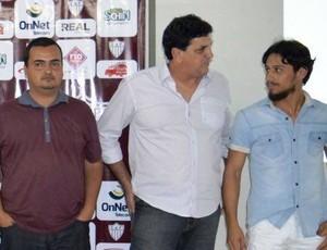 Comissão técnica 2016 CAP Clube Atlético Patrocinense, Patrocínio, Luiz Eduardo (segundo da dir. para esq.)  (Foto: CAP/Divulgação)