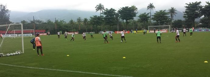 Treino Flamengo no Ninho do Urubu (Foto: Fred Gomes)