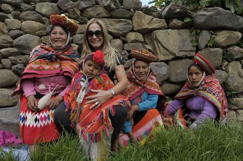 Susana Vieira no Peru (Foto:  Estevam Avellar / TV Globo)
