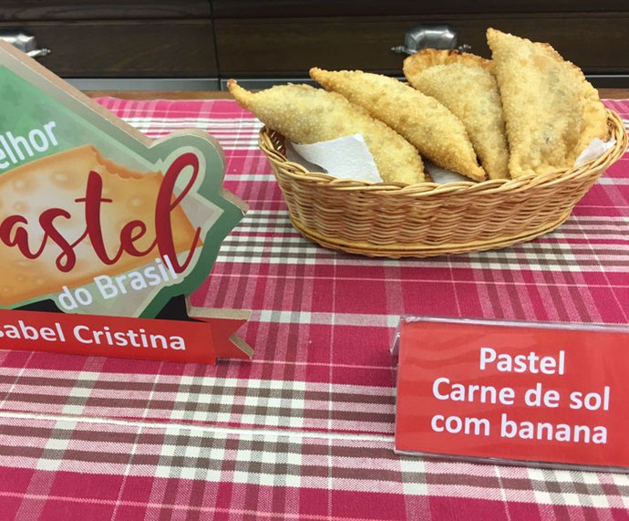 Pasteld e Carne de Sol com Banana (Foto: Daniela Meira/TV Globo)
