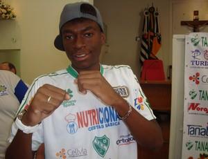 Cristian, irmão de Anderson Silva, do Tanabi (Foto: Marcos Lavezo)
