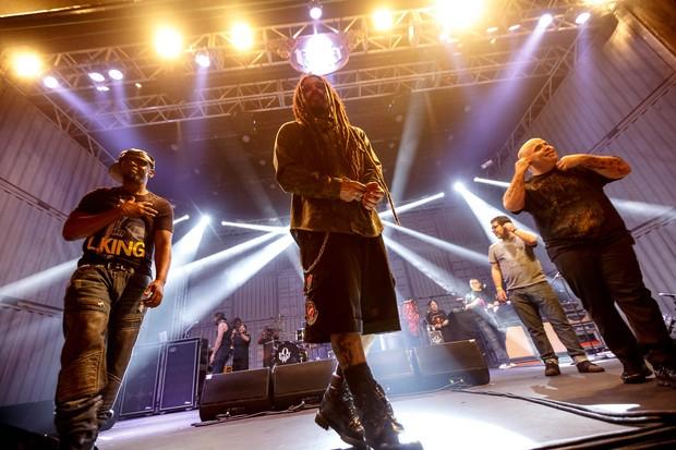 Show da banda O Rappa (Foto: Marcos Samerson / we love photo!)