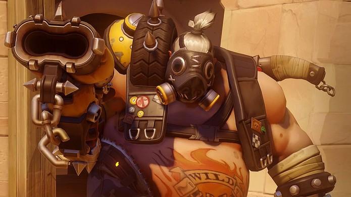 O versátil Roadhog (Foto: Divulgação/Blizzard)