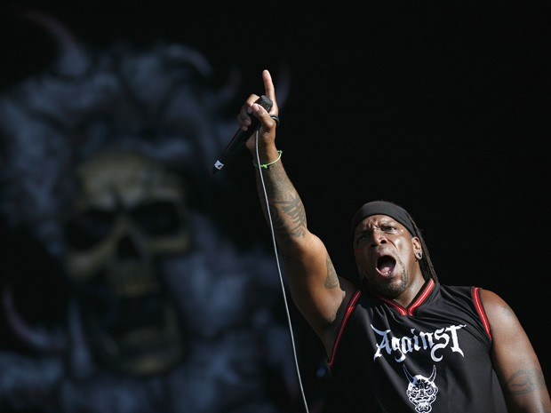 Sepultura se apresenta no Rock in Rio Lisboa na sexta-feira (25) (Foto: Rafael Marchante/Reuters)