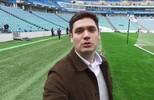 Marcelo Courrege mostra os bastidores de visita ao Estádio Olímpico de Sochi