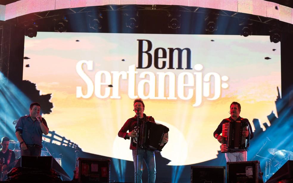 Bem Sertanejo - O Musical (Foto: Érico Andrade/G1)