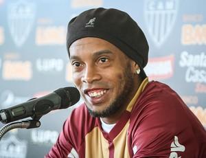 Ronaldinho Gaúcho fala sobre a convocação (Foto: Bruno Cantini / Flickr do Atlético-MG)