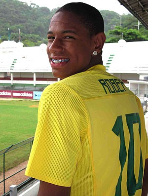 Robert promessa do Fluminense (Foto: Edgard Maciel de Sá / GLOBOESPORTE.COM)