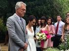 Veja fotos do casamento de Maria Prata e Pedro Bial