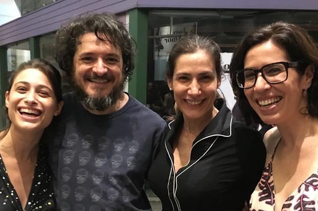Luisa Arraes, Guilherme Piva, Virgínia Cavendish e Maria Clara Gueiros (Foto: Divulgação)