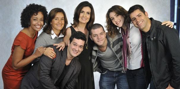 Equipe do programa Encontro com Fátima Bernardes (Foto: TV Globo / Renato Rocha Mira )