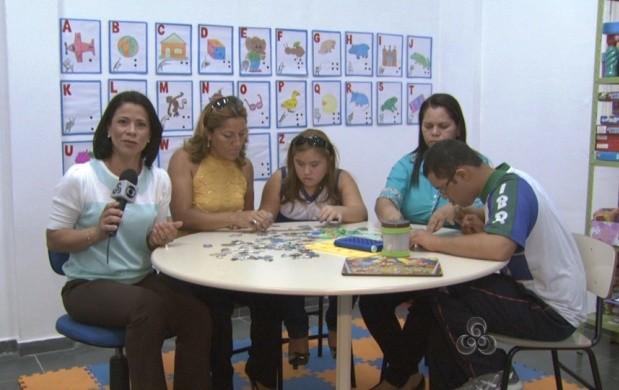 Roraima TV mostrou uma reportagem especial para celebrar o Dia Internacional da Síndrome de Down (Foto: Roraima TV)