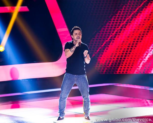 Rubens Daniel Primeira Audição (Foto: Isabella Pinheiro/TV Globo)