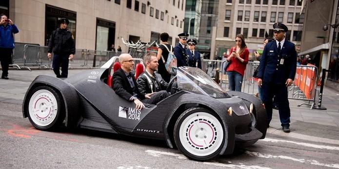 Veículo poderá ser derretido e dar forma a novo carro (Foto: Reprodução/Mashable) (Foto: Veículo poderá ser derretido e dar forma a novo carro (Foto: Reprodução/Mashable))